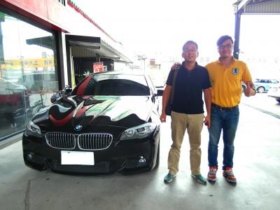 賀!!! 2012 BMW 535i 交車!!!