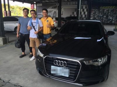 賀!!!2014 Audi A6 柴油 交車!!