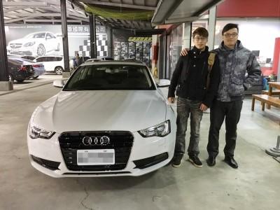 賀!!!2014 奧迪 A5 Coupe 全新車 交車!!!!