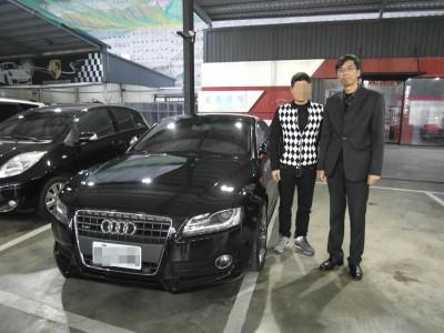 賀!!2010 奧迪 A5 Coupe 交車!!!