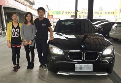 賀!!!2011 BMW X1 柴油 交車!!!