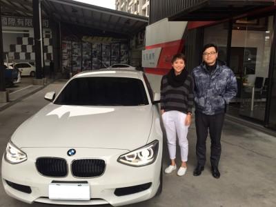 賀!!2014 BMW 116i 交車!!!