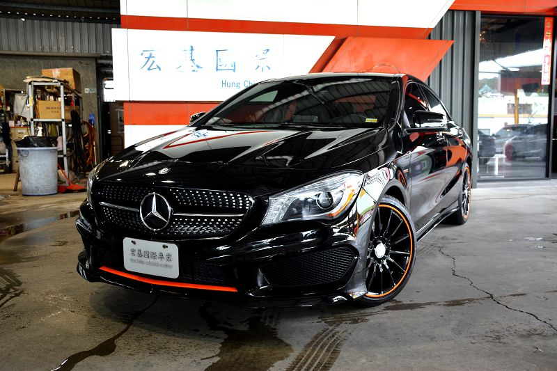 16 CLA250 AMG 4MATIC ORANGE ART EDITION 新車售價278萬