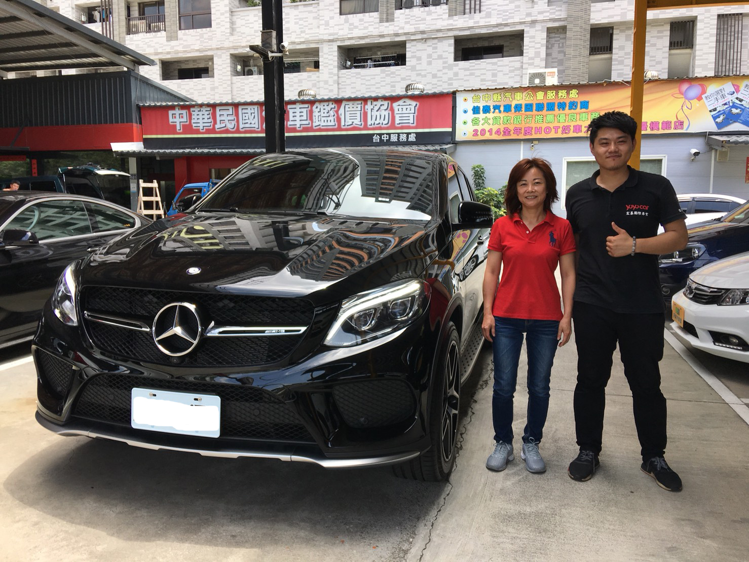 賀成交 2017 BENZ GLE43 COUPE!!